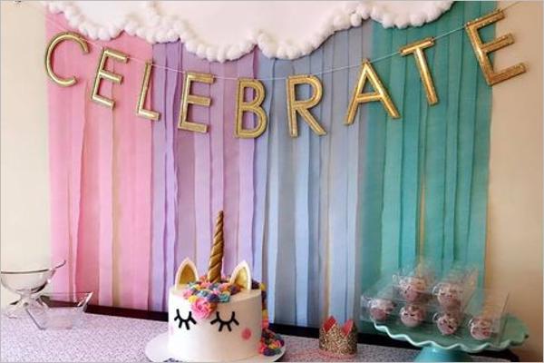 SimpleBirthday party Theme