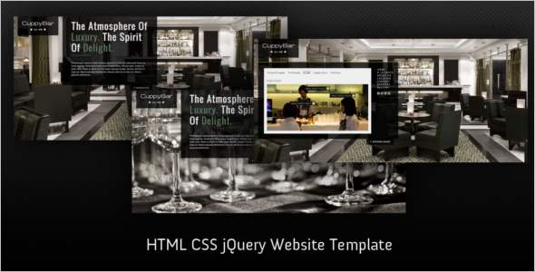 Simple CSS Website Template