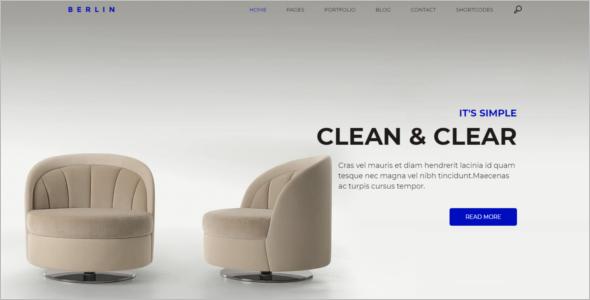 Simple Company WordPress Theme