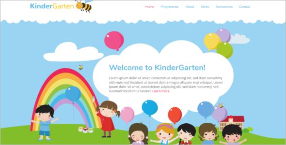 Simple Daycare WordPress Theme