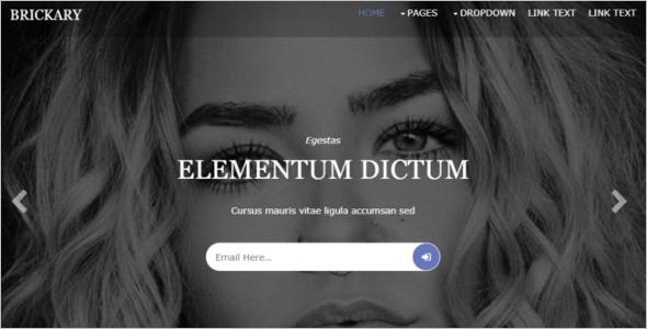 Simple HTML5 Website Template