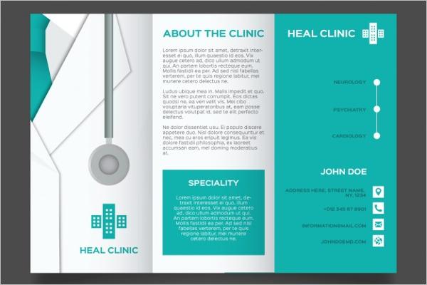 Simple Medical Brochure Design
