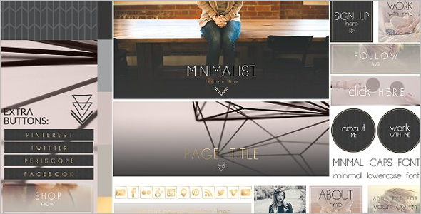 Simple Vintage Website Template
