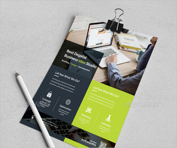 Small Business Poster Template