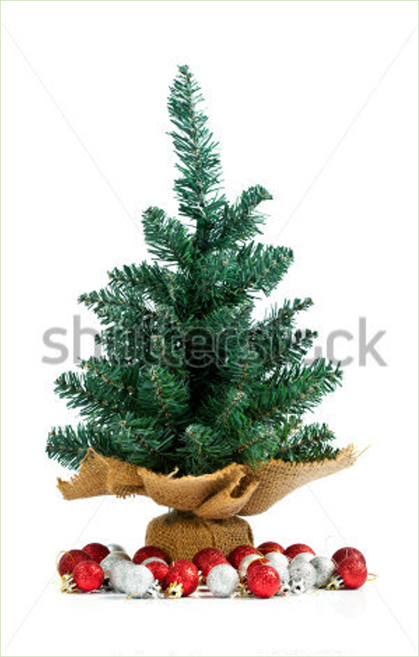Small White Christmas Tree Idea