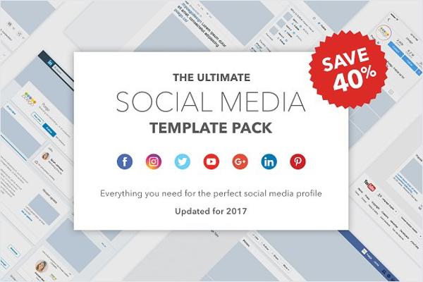 Social Media Feed Mockup Template