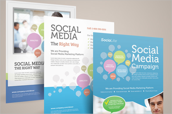Social Media Marketing Template Bundle