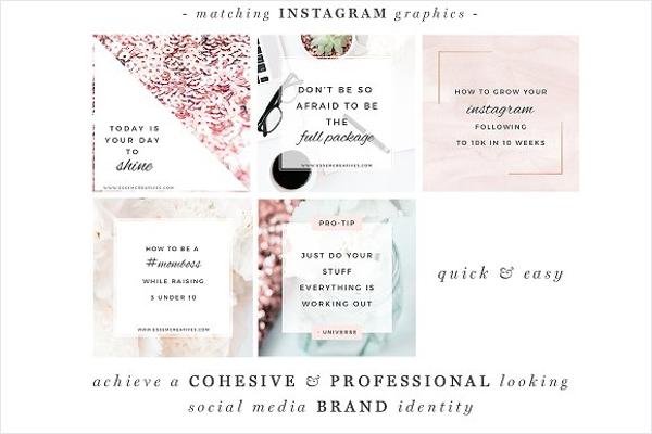 Social Media Mockup Page Design