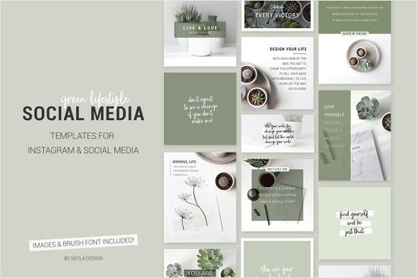 Social Media Mockup PSD