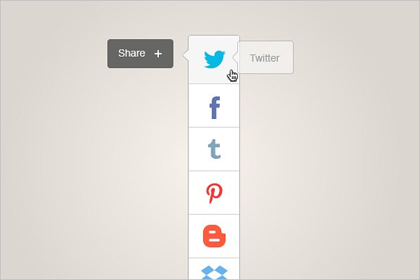 Social Sharing Icon Design