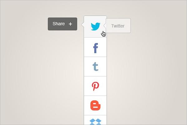 Social Sharing Icon Design
