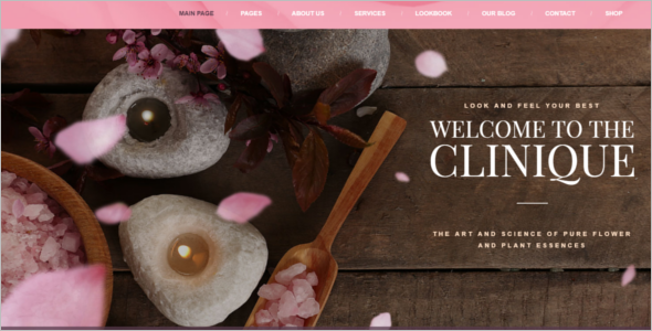 Spa Resort WordPress Theme