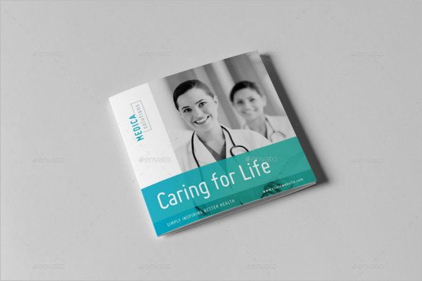 Square Medical Brochure Template