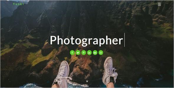 StylishPersonal Website Template