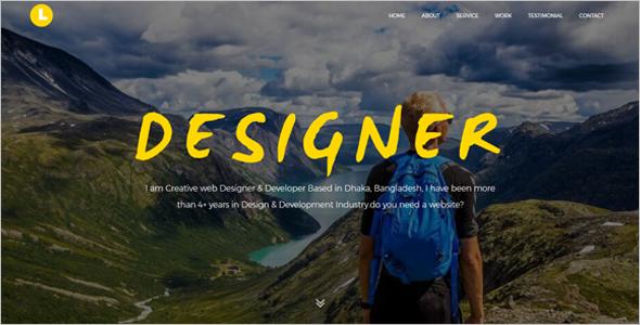 SuperPersonal Website Theme