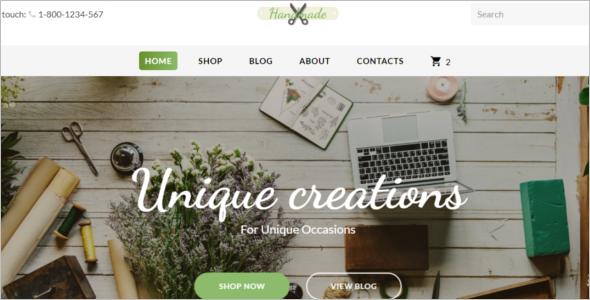 Supplies Website Template