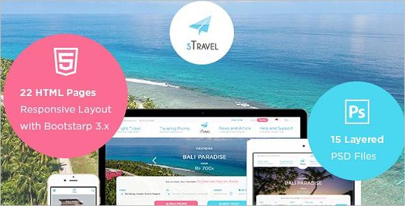 Tour Booking Website Template