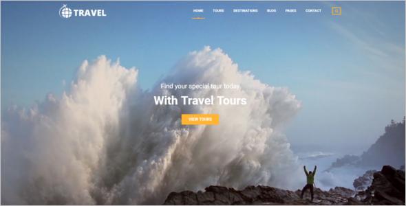 Tour & Travel HTML Website Template