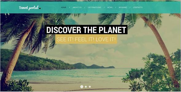 Tourism Website Description Template