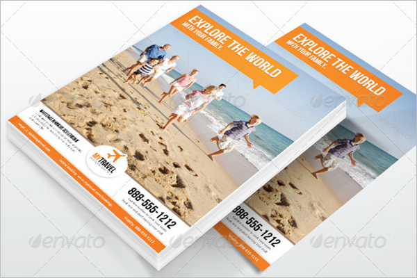 Travel Agency Marketing Flyer