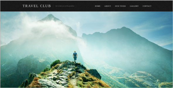Travel Club Website Template