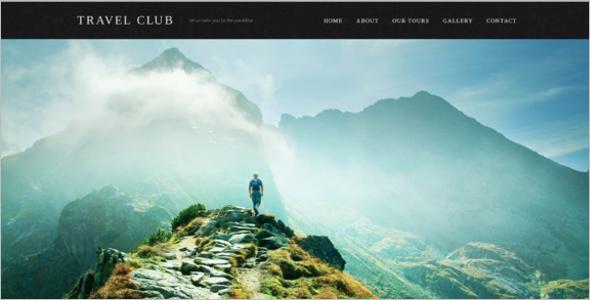 Travel Club Website Template