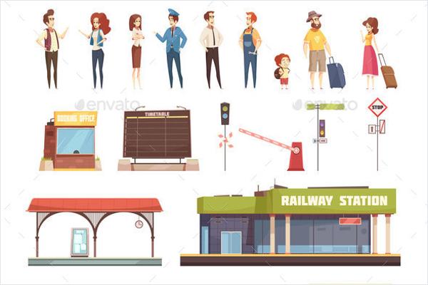 Travel Icons Vector Design