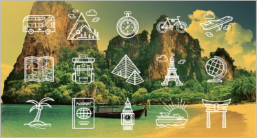 Travel Icons Vector Designs