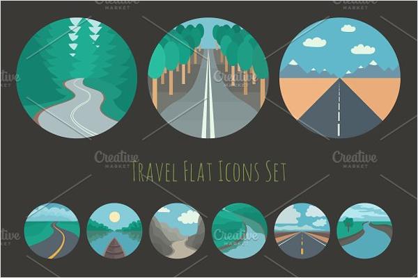 Travel Logo Image Vector Design