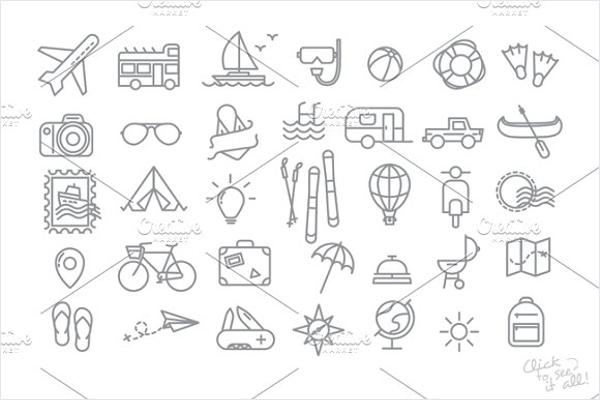 Travel Logo Vector Design