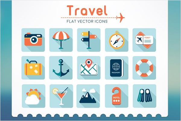 Travel Vector Background Design