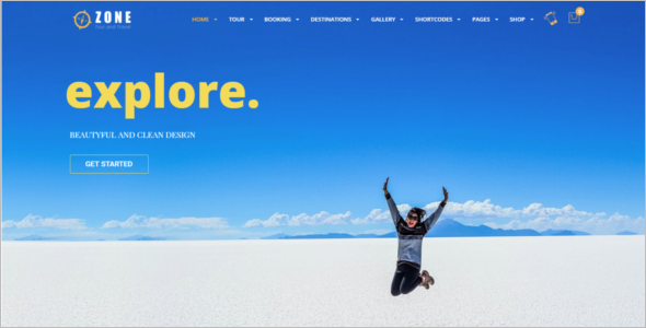 Travel WordPress Responsive Theme