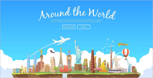 Travel collection Website Template