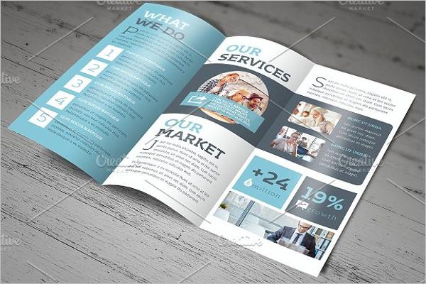 Tri-Fold Company Brochure Template