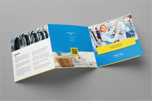 Tri-FoldLaundry Brochure Design