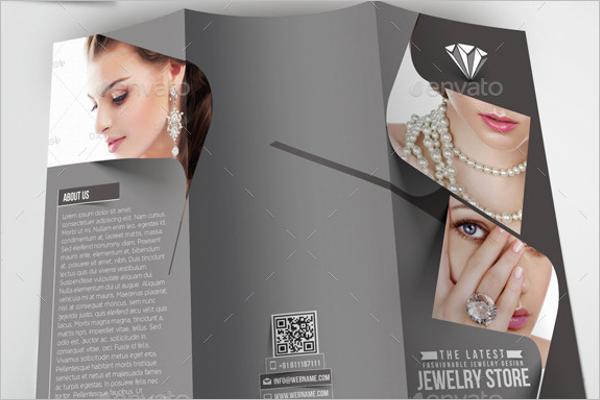 TrifoldJewelry Brochure Design