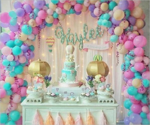 Unicorn Birthday Party Idea