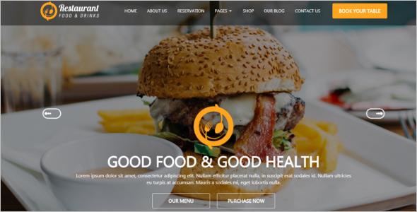 Unique Restaurant HTML Template