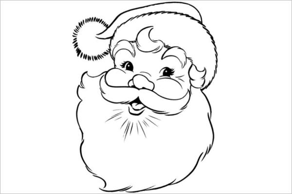 Unique Santa Claus Design Idea