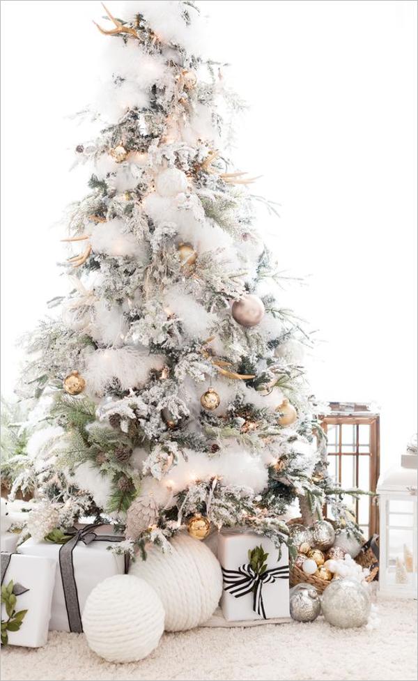 Unique White Christmas Tree