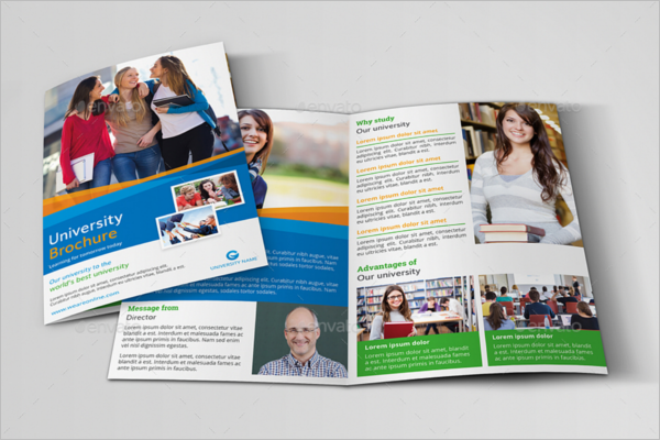 University Education Brochure Template