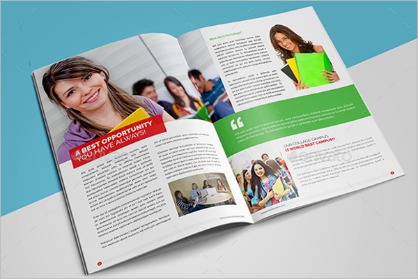 40 college brochure templates free psd pdf word sample for College brochure design pdf
