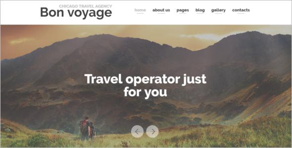 Vacation Planning Responsive Joomla Template