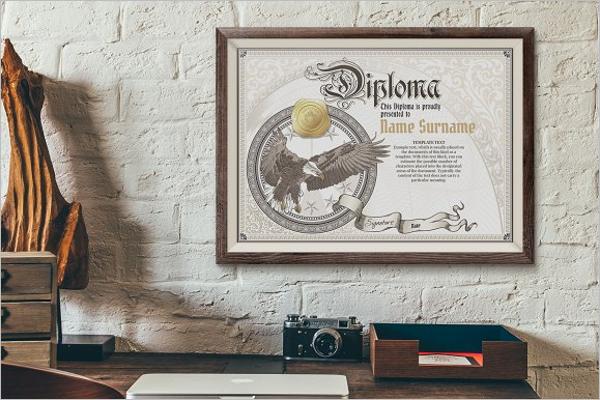 Vintage Certificate Template