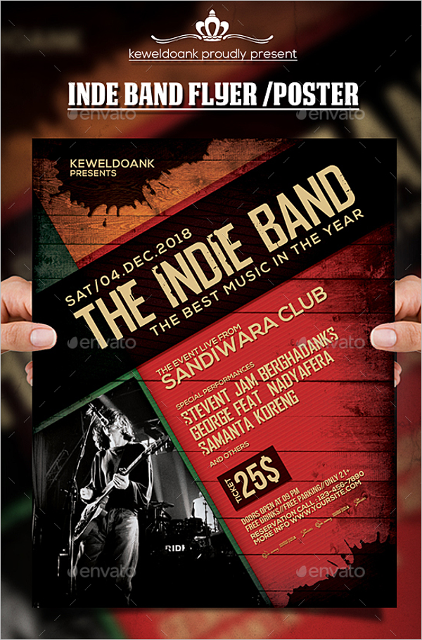 43 psd band poster templates free word design ideas