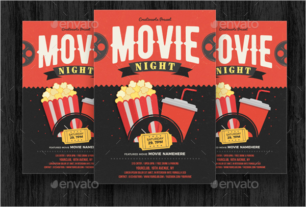 Vintage Movie Poster Template