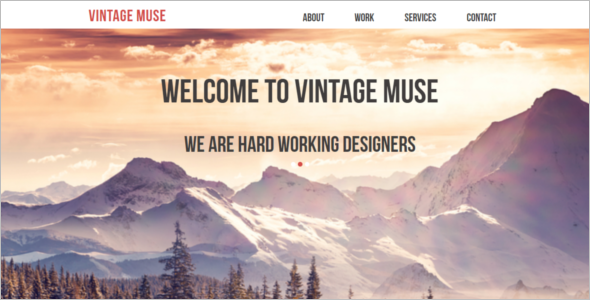 Vintage Multi-Purpose Template