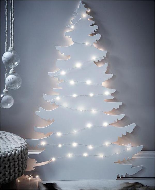 Vintage White Christmas Tree Ideas
