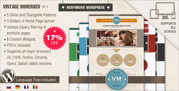 Vintage WordPress Theme