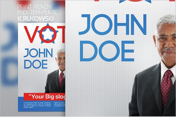 Vote Election Poster Template